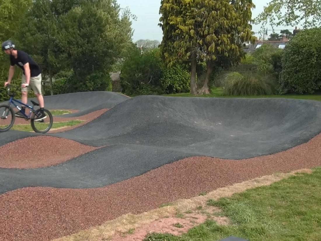 BMX pump track for North Tawton Town Council