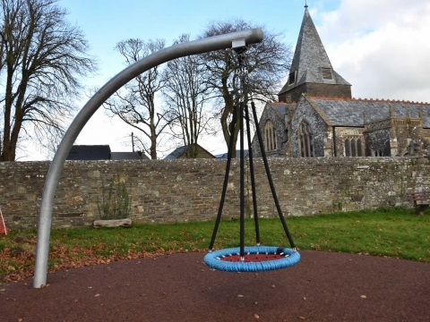 Beaford play space play project