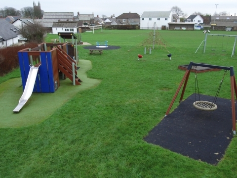 Bradworthy playing fields play project