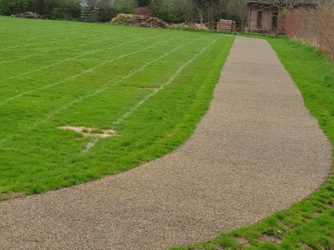 Secondary school running tracks play project