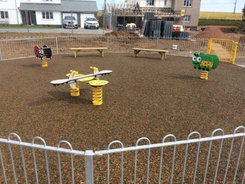 Prixford Pearce Construction Barnstaple play project