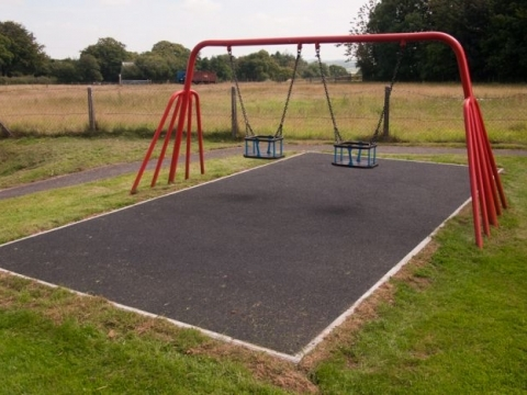 Burrington, Wet Pour Safety Surfacing play project