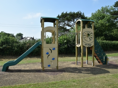 Littleham village playing field near Bideford play project