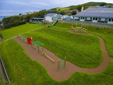 Woolacombe Primary School  play project