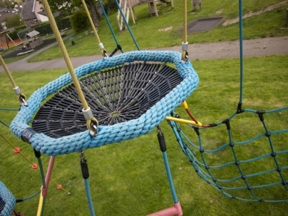 Central Park in South Molton play project