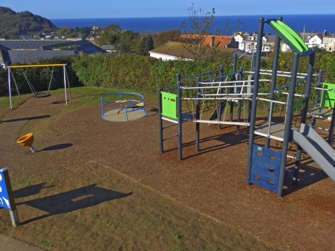 Princess Avenue play area,Ilfracombe play project