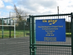 North Tawton MUGA and New play Equipment