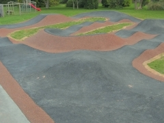 BMX pump track for North Tawton Town Council
