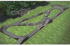 BMX pump track
